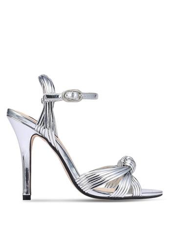 ZALORA 銀色 Dancing 高跟鞋 4CA30SH1FA4269GS_1