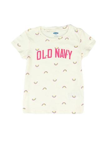 Old Navy beige Logo Graphic Tee for Toddler Girl D1D99KA526AFADGS_1
