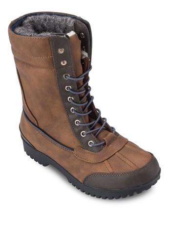 Loveride 繫帶短靴esprit outlet 香港, 女鞋, 鞋