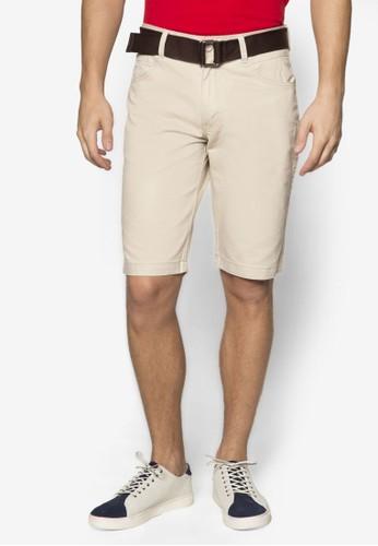 腰帶休閒京站 esprit短褲, 服飾, 服飾