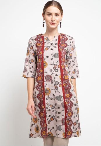 Danar Hadi multi Blouse Batik Print Motif Sebaran Kapas C13C9AA61CC81CGS_1