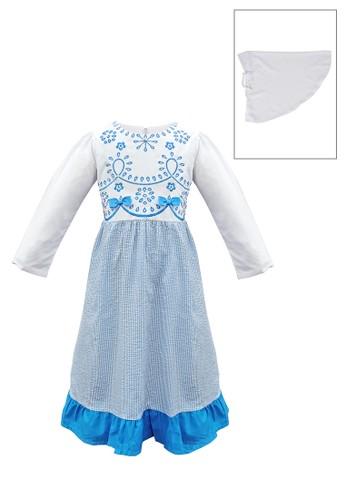 ODAIBA white and blue Muslim Anak-ODM 27 5/8 7AEA0KA4DA594DGS_1