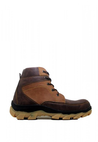 Cut Engineer brown Cut Engineer Safety Boots Reflector Top Quality Dark Brown 0A64CSHBB43FFEGS_1