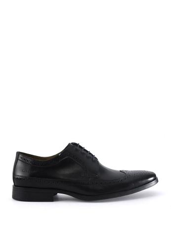 Sebago black Elbrus Wing Tip Dress Casual Shoes SE328SH47JCUPH_1