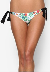 Piha multi Flower Festival Tie Side Brazilian Bikini Bottom PI734US25ERMMY_1