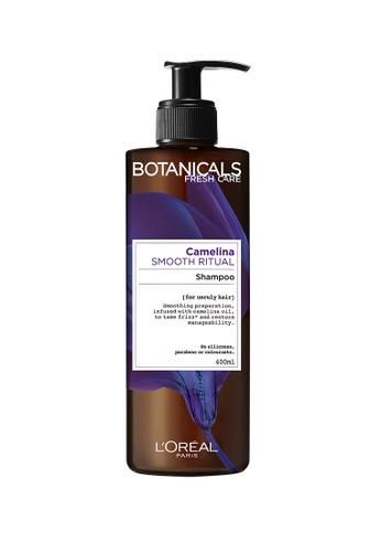 L'Oréal Paris Botanicals Camelina Smooth Ritual Shampoo 400ml E48D1BE663571AGS_1