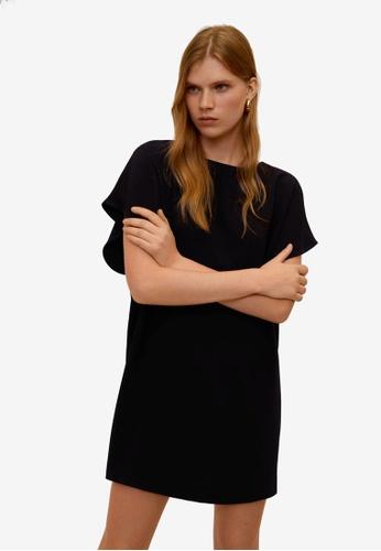 Mango black Dolman Sleeve Dress 6A30CAAFCB5769GS_1