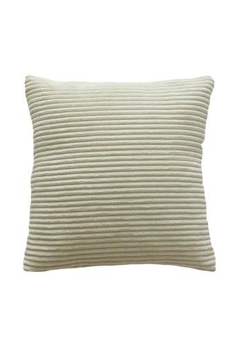 DILAS HOME Basic Corduroy Cushion Cover (White) CDB18HL9E163F2GS_1