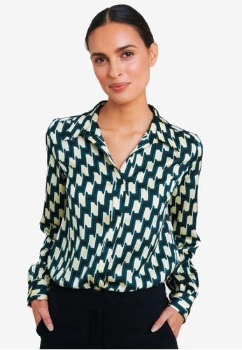FORCAST multi Rawin Printed Shirt 403EDAAE4933D7GS_1
