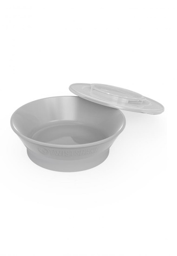 Twistshake Twistshake Bowl 6+M Pastel Grey D8C67ES2481088GS_1