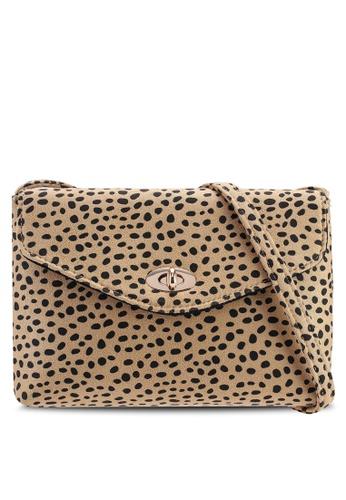 fbd425bec17 Cheetah Twistlock Crossbody Bag