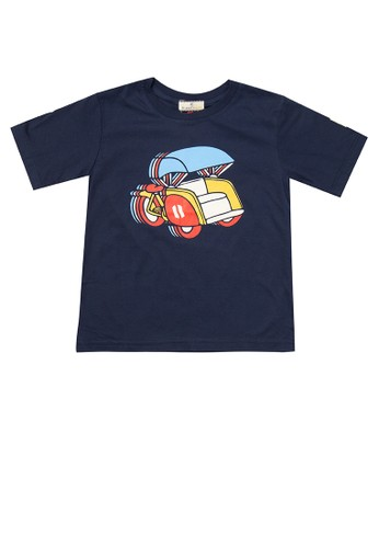 Rianty Kids navy Kaos Anak Becak D3C94KA296D522GS_1