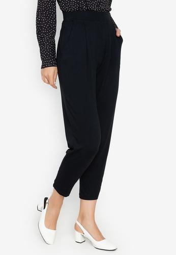 cf7dda0b6c0aae Shop MARKS & SPENCER Jersey Tapered Leg Trousers Online on ZALORA ...