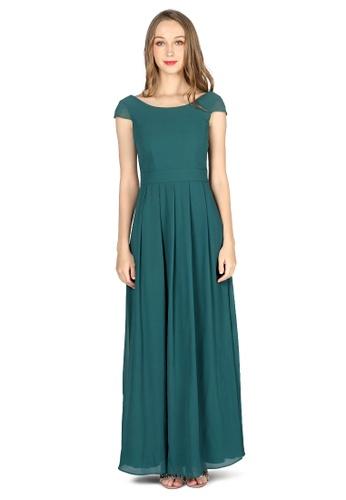 5c28df27b451f Buy London Rag Jasper Chiffon Maxi Dress Online on ZALORA Singapore