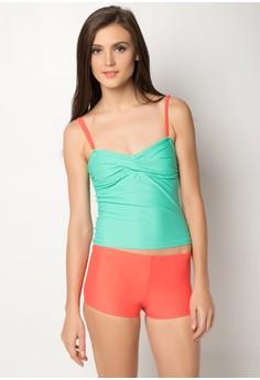 Tankini With Matching Shorts