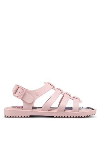 Melissa pink Melissa Flox Disney Ad Sandals 9FF4FSH97A0E8BGS_1