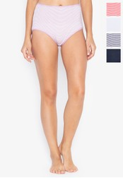 MARKS & SPENCER multi 5 Pack Cotton Rich Full Brief Knickers 01C86US7CA131CGS_1