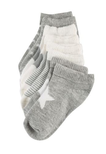 LC Waikiki multi Baby Boy's Printed Booties Socks 4-pack F6566KA55402ECGS_1