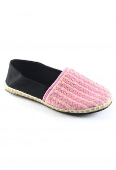 Habi Footwear Women's Classic Espadrilles Limited - Pink Blossom