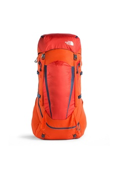 ef151ebdf3 The North Face orange and blue The North Face Terra 65 Backpack Zion  Orange/Shady