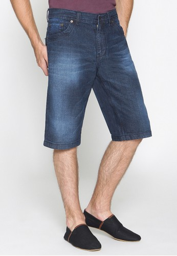 2Nd Red Short Pants Jeans Wisker 151650