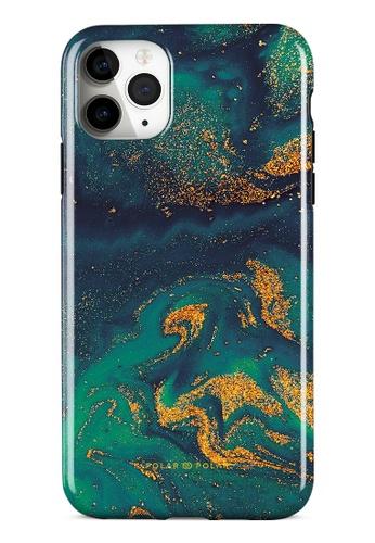 Polar Polar green Green Night Quicksand Dual-Layer Tough Case Glossy For iPhone 11 Pro Max 9682FACAD8F791GS_1