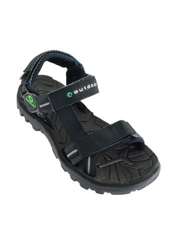 Outdoor Footwear black Outdoor Mouve Black Sandals Gunung OU533SH82PGJID_1