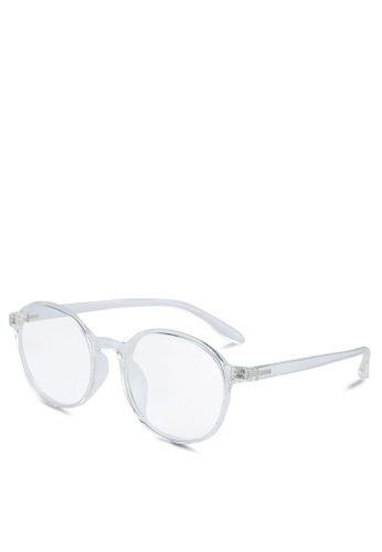 Medium Rare Store white Alma Glasses B80EBGL2F82087GS_1