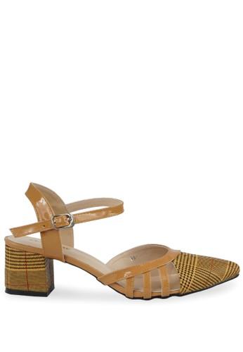 CLAYMORE brown Claymore Mid Low Heels WA 16 - Tan 4B65ESH94452C3GS_1