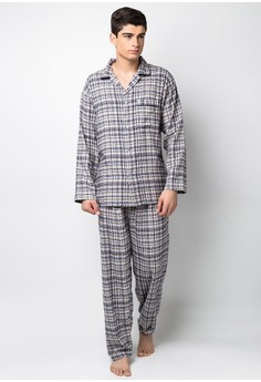Woven Pajama Set Pants
