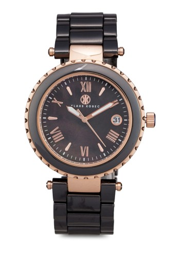 Venus 羅馬數字陶瓷手錶, 錶類, 淑esprit官網女錶