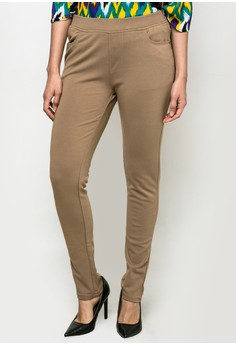 Skinny Fit Plus Size Pants