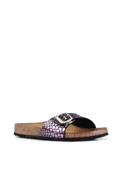 bee1d954396 Birkenstock Madrid Shiny Snake Sandals Php 4