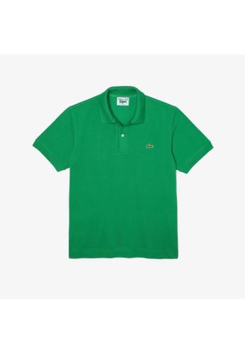 Lacoste green Men's Lacoste Classic Fit Organic Cotton Piqué Polo Shirt 78190AA94E27C2GS_1