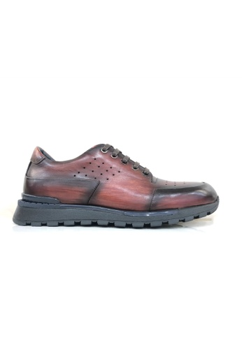 Giorostan 紅色 男仕休閒鞋 A653DSH0B5BF20GS_1