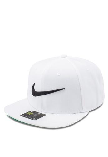 e73f423a947 Nike white Unisex Nike Sportswear Pro Swoosh Classic Cap 91363AC8E9D5EDGS 1