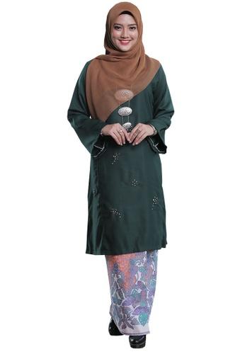 Kenangan Terindah 01 from Hijrah Couture in Green