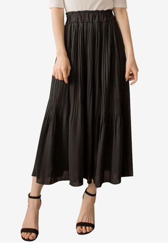 a801867957 Buy Yoco Pleated Detailed Midi Skirt Online on ZALORA Singapore