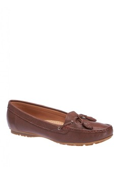 Womens Meriden Tie Loafers