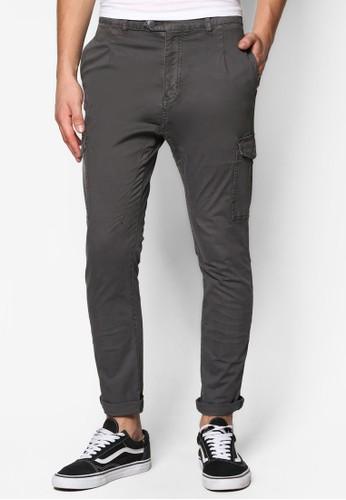 Cargo Back Cuesprit outlet 台灣ttes Long Pants, 服飾, 服飾