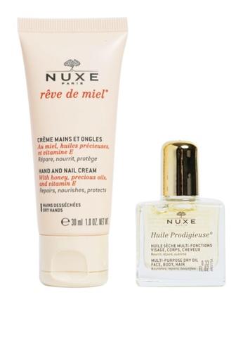 Duo Reve De Miel Hand Cream 15Ml With Huile Prodigiuse 10Ml (Duo: Rdm Hand  Cream With Hp 10Ml)