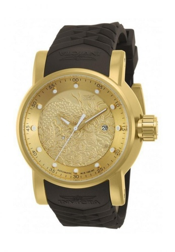 INVICTA gold Invicta S1 Rally Automatic Men IP 48mm Racing Tour Watch 12790 5DD58AC8CF6A42GS_1