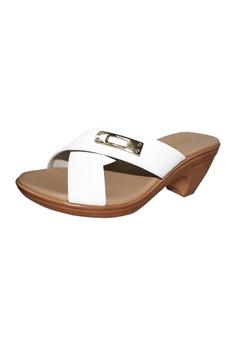 Camino Strap Slide Heel Sandal
