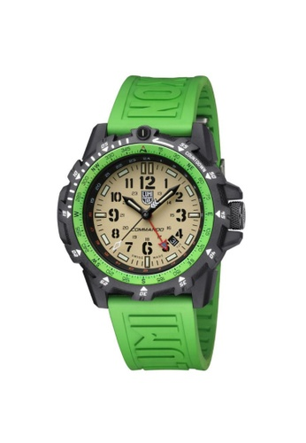 LUMINOX green LUMINOX LM3337 COMMANDO RAIDER MILITARY MEN'S WATCH 70822AC4E5793FGS_1