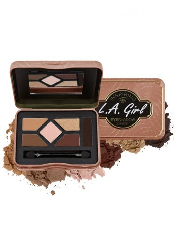 L.A Girl beige LA Girl Inspiring Eyeshadow Naturally Beautiful 59F8ABEE837C84GS_1