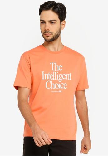 New Balance orange NB Athletics The Intelligent Choice Tee 5CA9FAACAB650AGS_1