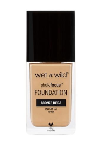 Wet N Wild beige Photo Focus™ Foundation Bronze Beige A612ABEE412DC0GS_1