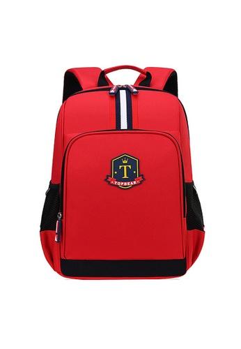 Twenty Eight Shoes red VANSA Nylon Oxford Backpacks VAK-Bp635 27EFBKC7219A6AGS_1