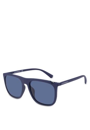 Emporio Armani blue Emporio Armani EA4095F Sunglasses 37B4AGLC9E367CGS_1