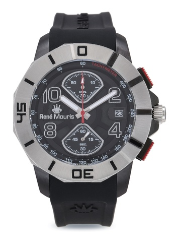 René Mouris black Infinite - 47mm Quartz Chronograph Watch B73EEAC70A6791GS_1